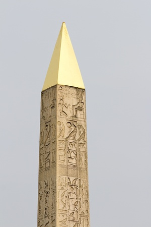 Obelisk of Concorde square, Paris photo