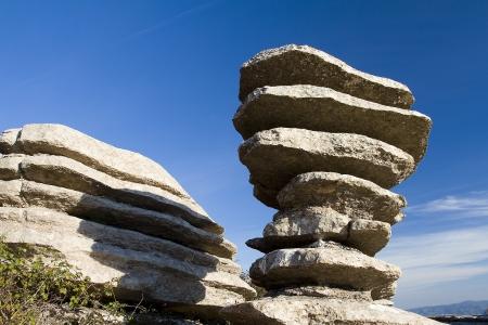 stratigraphy: Torcal de Antequera, Spain