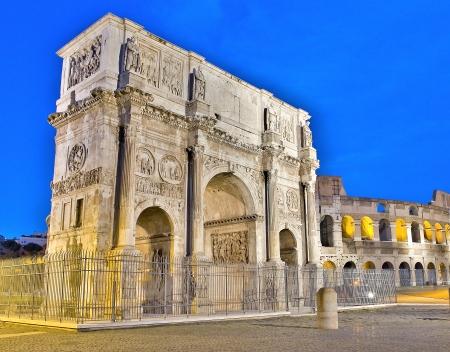 constantino: Arch of Constantine, Rome Editorial