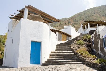 eolie: Ginostra village, Stromboli