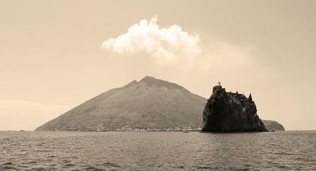 eolie: Stromboli, Italy Stock Photo