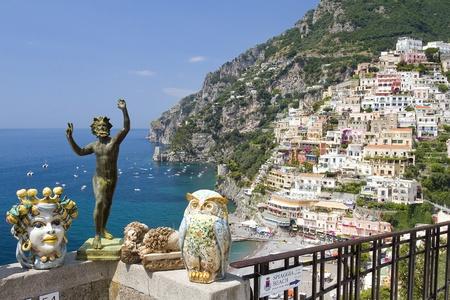 Positano, Amalfi Coast, Italy Stock Photo