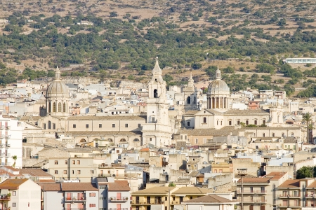 Comiso, Sicily, Italy 스톡 콘텐츠