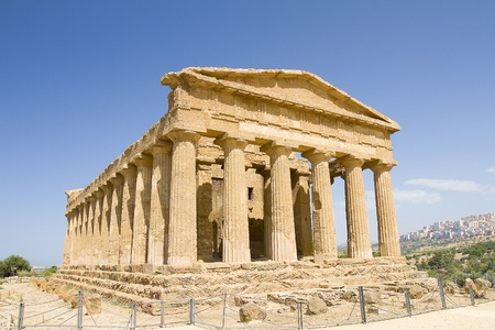 agrigento: Temple of Concordia, Agrigento, Italy
