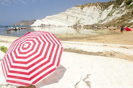 scala: Beach Scala dei Turchi, Porto Empedocle, Sicily