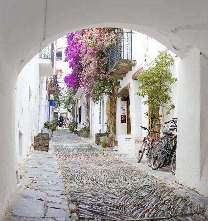 jewish home: Jewish district of Cadaques, Spain Editorial