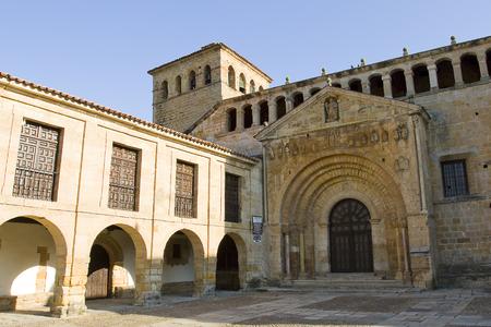 collegiate: Collegiate church Santa Juliana in Santillana del Mar, Cantabria, Spain