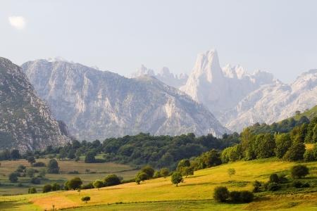 picos: Naranjo de Bulnes or Picu Urriellu, Picos de Europa, Spain