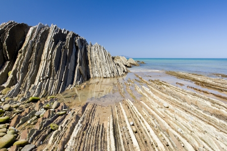 stratigraphy: Flysch of Zumaia, Basque country, Spain