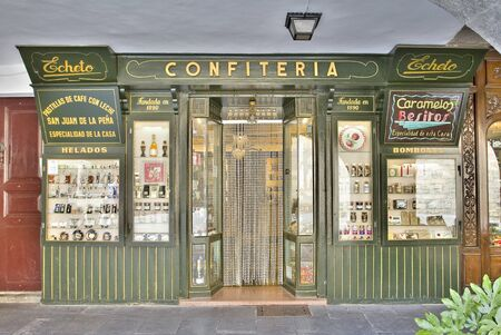 sweet shop: Traditional sweet shop in Jaca, Spain