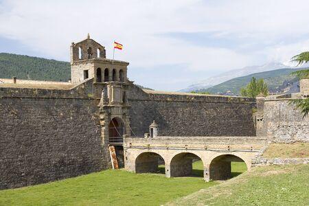 the citadel: Cittadella di Jaca, Spagna