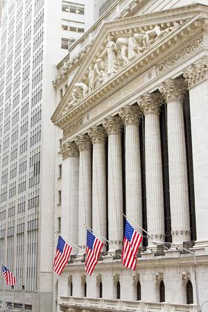 stock market exchange: Wall Street, New York City