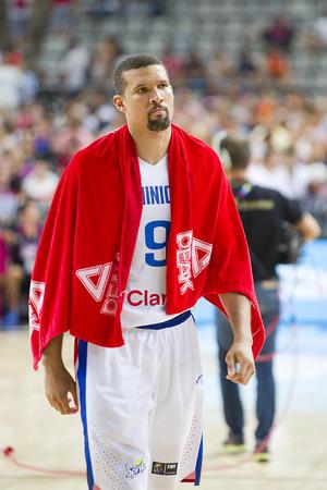 garcia: Francisco Garcia of Dominican Republic at FIBA World Cup basketball match between Slovenia and Dominican Republic, final score 71-61, on September 6, 2014, in Barcelona, Spain
