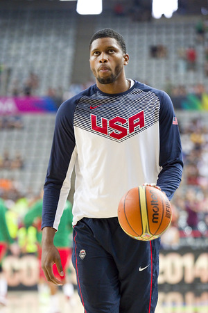 rudy: Rudy Gay of USA Team at FIBA World Cup basketball match between USA and Mexico, final score 86-63, on September 6, 2014, in Barcelona, Spain