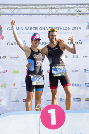 Anna Godoy won the women Garmin Barcelona Triathlon, on October 5, 2014, in Barcelona, Spain. His brother, Francesc Godoy, finished 3rd in men\\\\\\\\\\\\\\\\