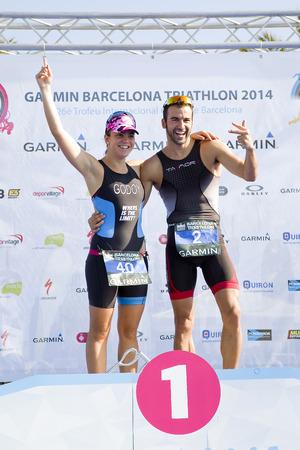 francesc: Anna Godoy won the women Garmin Barcelona Triathlon, on October 5, 2014, in Barcelona, Spain. His brother, Francesc Godoy, finished 3rd in men\\\\\\\\\\\\\\\\