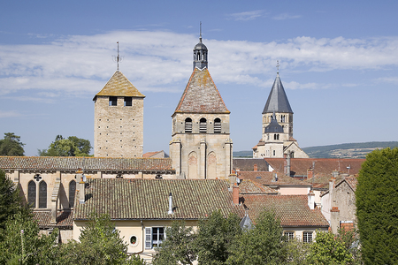 congregation: Cluny, France Stock Photo