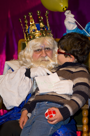 caspar: Biblical Magi, who receive letters from children and so bring them gifts on the night before. Is a traditional spanish celebration. January 5, 2012 in Alella, Barcelona