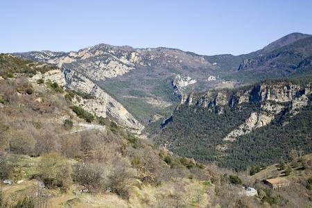 Pyrenees, Catalonia, Spain. Stok Fotoğraf