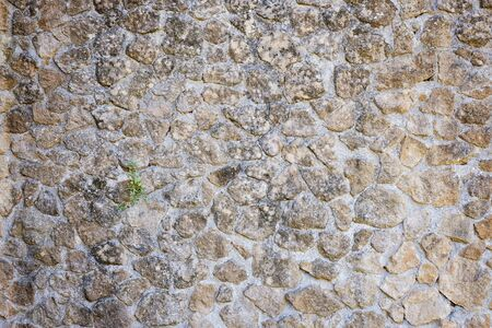 Background of stone wall texture Stockfoto
