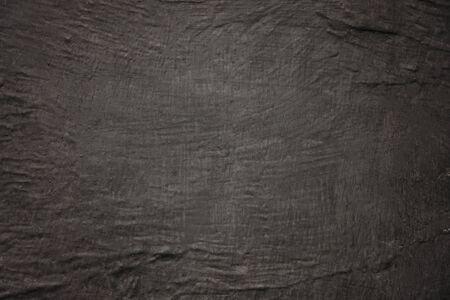Empty black background with concrete texture, copy space Standard-Bild