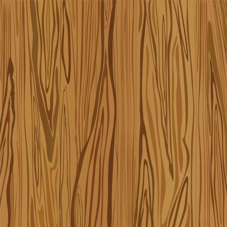 planche de bois: Bois brun fond. Vecteur Illustration