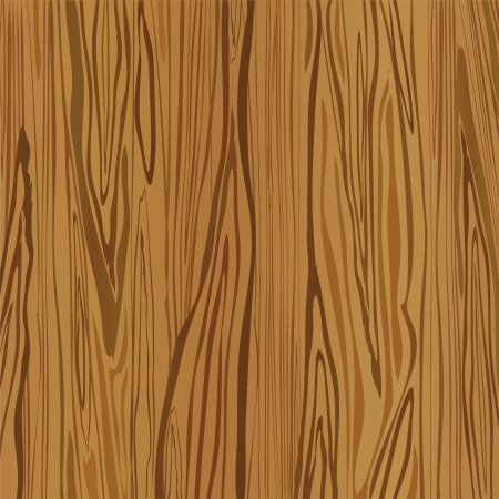 wood paneling: Wood brown background. Vector