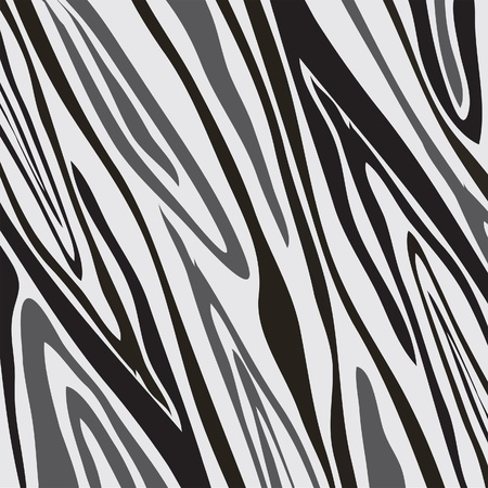 leather coat: Vector zebra background