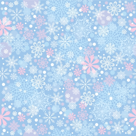 christmas seamless pattern: Christmas seamless background with snowflakes