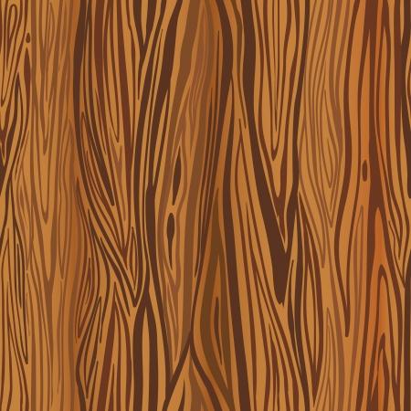 woodgrain: Wood brown background. Vector seamless pattern.
