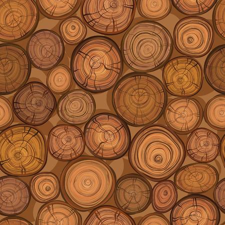 cut logs: Textura de madera incons�til del tronco de �rbol cortado