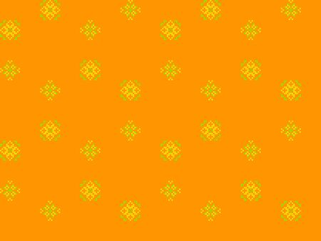 criss: Seamless texture with yellow and green ornaments.Abstract flowers dandelions