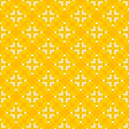 bedcover: Seamless texture with white and yellow abstract patterns for tablecloth.Embroidery.Cross stitch.