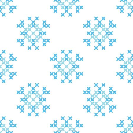 bedcover: Isolated seamless texture. Abstract blue ornaments.Patterns for cloth. Embroidery.Cross stitch.