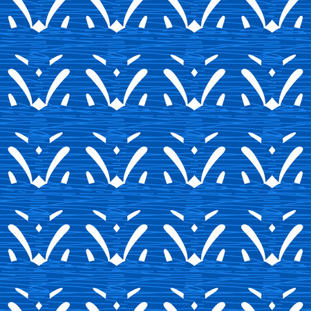 stria: Seamless texture with flat blue and white strips.Patterns for cloth