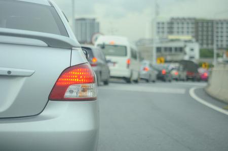 Traffic jam photo