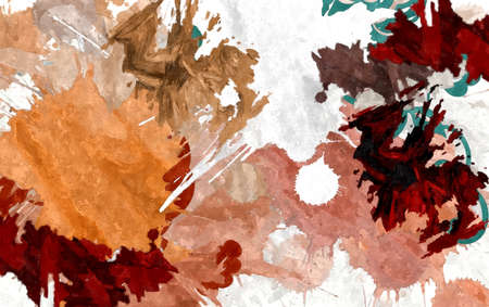 abstract background colored grunge texture watercolor stylization of chaotic brush strokes Foto de archivo