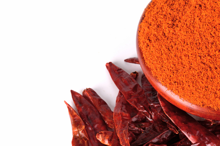 chilly: chilly powder with red chilly