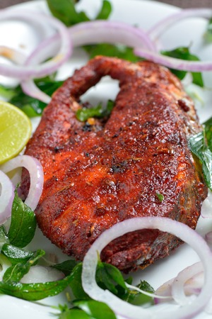 food and drinks: Fish fry
