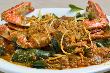 cangrejo: Cangrejo Masala - picante india