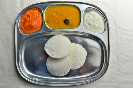 south indian: Idli South Indian breakfast Stock Photo