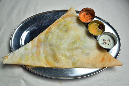 dosa: Masala Dosa South Indian breakfast