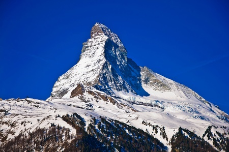helvetia: Matterhorn mountain of zermatt switzerland