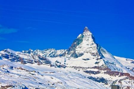 helvetia: Matterhorn mountain of zermatt switzerland