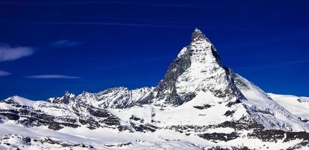 Landscape of Matterhorn peak
