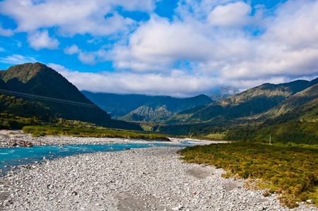 part of southern alps in New Zealand Stock Photo - 10518638
