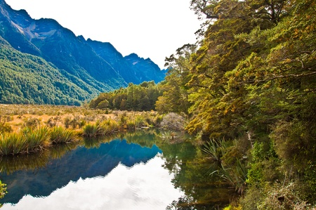 New Zealand, Southern Alps  photo