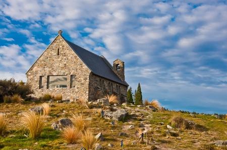 Church of the Good Shepherd, Lake Tekapo, New Zealand photo