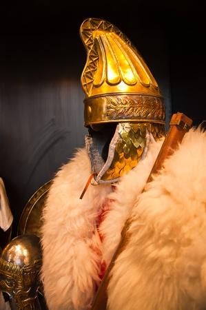 Ancient Roman soldier armor