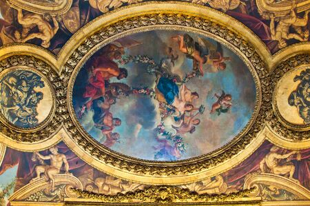 cilling in Versailles castle, France Stock Photo - 10986264